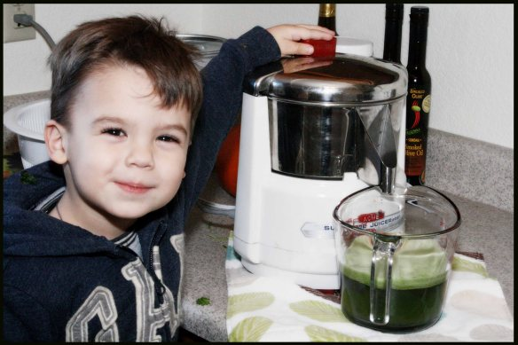The Bean helping juice