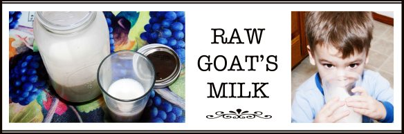 Raw Goat's Milk...Mmm