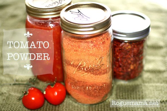 Tomato preservation options